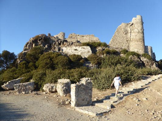 Bild: Aufstieg zur Ritterburg
