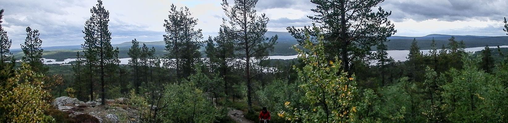 Bild: Ausblick Jyppyrä