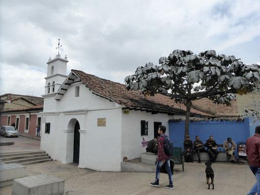 Bild: Chorro de Quevedo in Bogotá