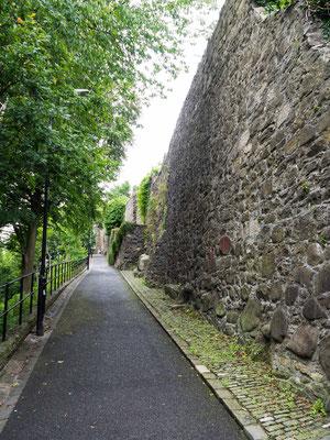 Bild: Stirling - Stadtmauer