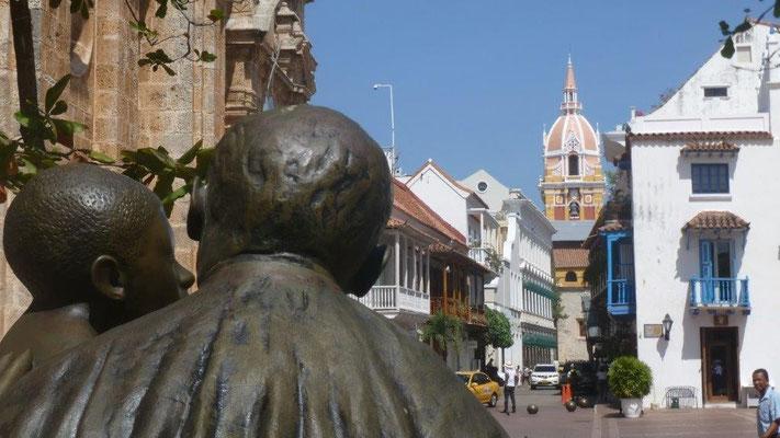 Bild: Innenstadt von Cartagena