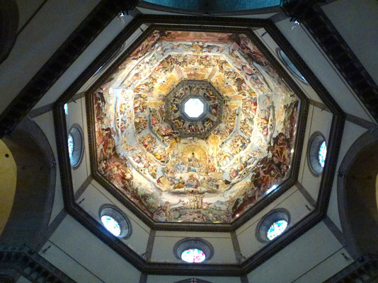 Bild: Basilica S. Maria del Fiore - die herrliche Kuppel