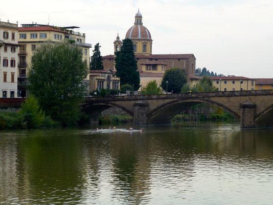 Bild: Fluss Arno