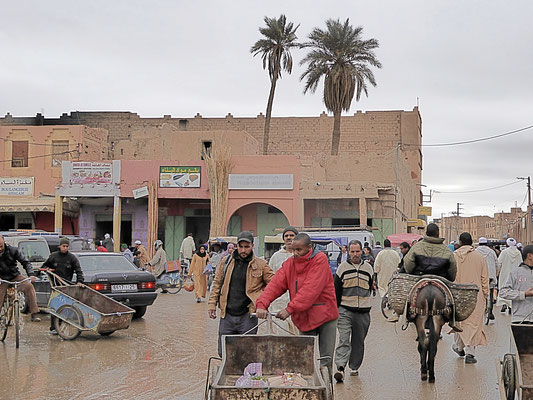 Bild: Auf dem Souk in Rissani