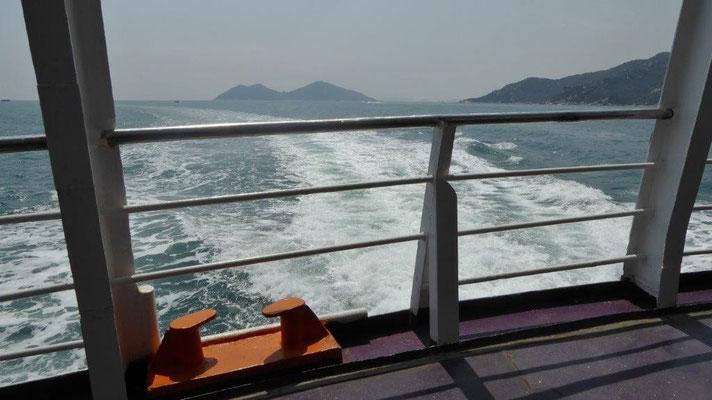 Bild: Mit der Fähre nach Cheung Chau