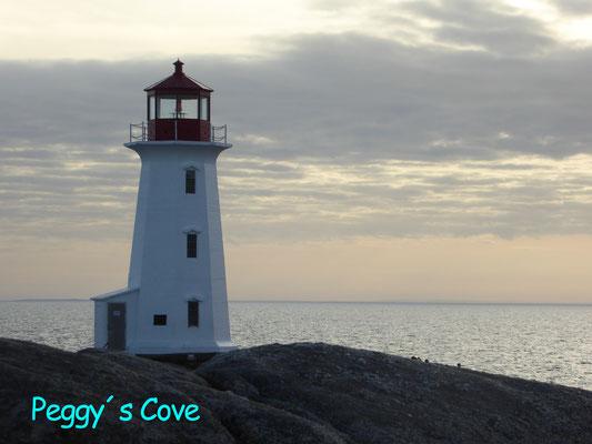Bild: Der Leuchtturm von Peggy´s Cove in Nova Scotia / Kanada