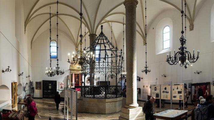 Bild: Die Alte Synagoge im Stadtteil Kazimierz in Krakau / Polen