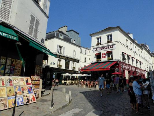 Bild: Das Künstlerviertel Montmartre