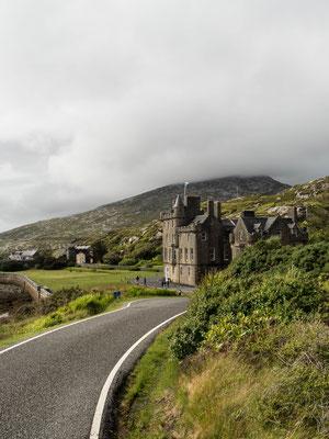 Bild: Einspurige Straßen auf Isle of Harris
