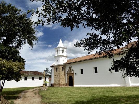 Bild: Kirche in Villa de Leyva