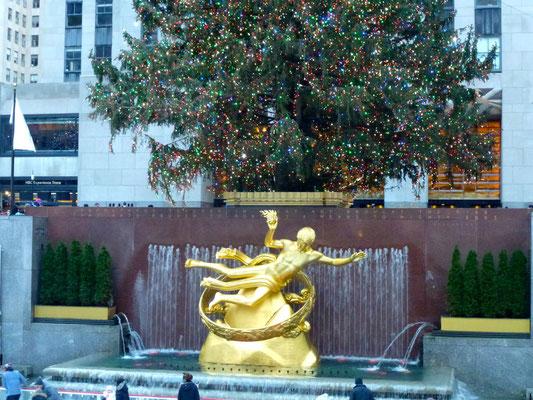 Bild: Prometheus-Statue