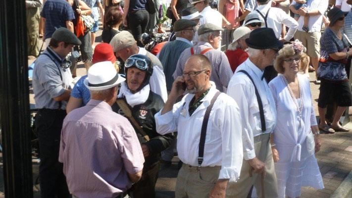 Bild: Feiernde in Napier