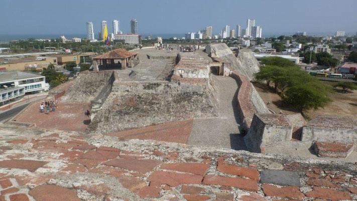 Bild: Blick auf die Stadt Cartagena - Foto 2
