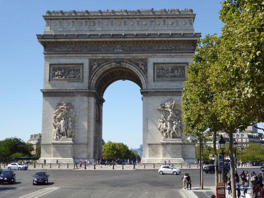 Bild: Arc de Triumphe