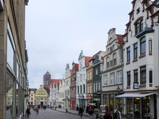 Bild: Die Krämerstraße in Wismar