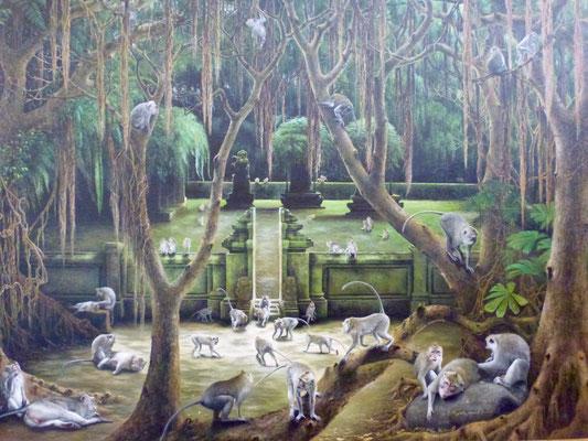 Bild: Im Affenpark