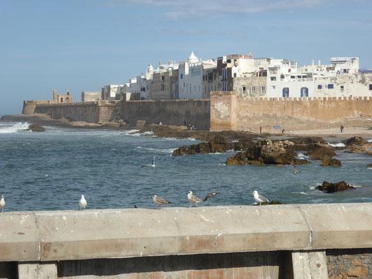 Bild: Essarouira vom Hafen aus