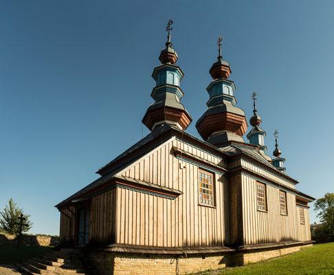 Bild: Holzkirche Komańzca in Polen - Foto 1