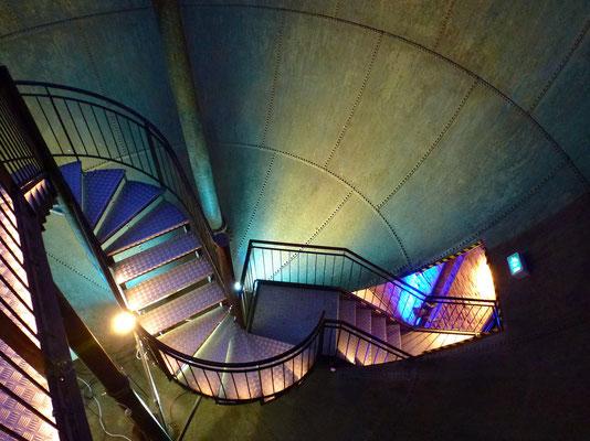 Bild: Treppenaufgang von oben