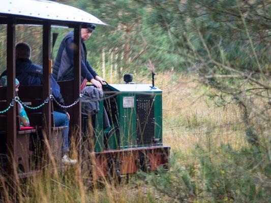 Bild: Die Lokomotive der Moorbahn