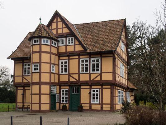 Bild: Haus im Französischen Garten in Celle