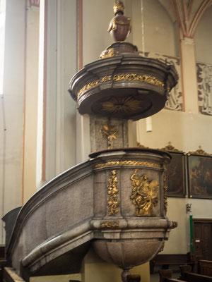 Bild: Die Kathedrale zum heiligen Kreuz - Foto 1 Kanzel