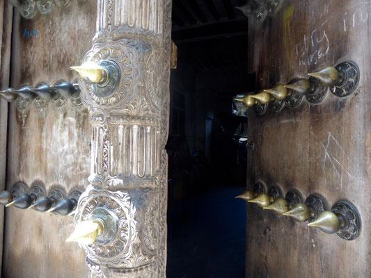 Bild: Tür mit Schutz vor Elefanten