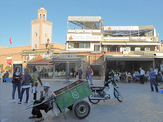 Bild: Djemaa El Fna in Marrakech