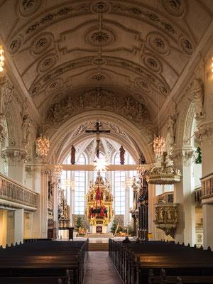 Bild: Stadtkirche von Celle von innen  Foto 1