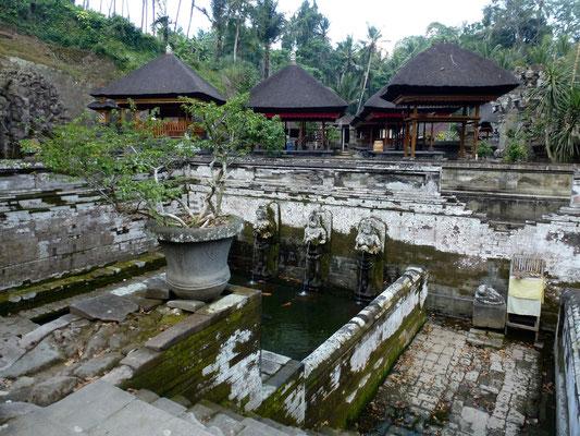 Bild: Wasserbecken Goa Gajah auf Bali