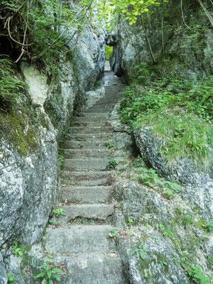 Steinstreppen