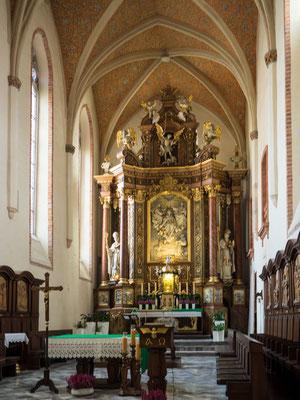 Bild: Das Kirchenschiff der Ahnenkapelle in Oppeln