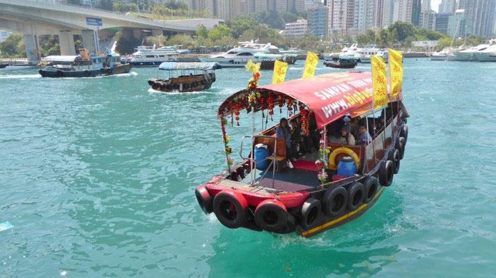 Bild: Hong Kong Dschunke