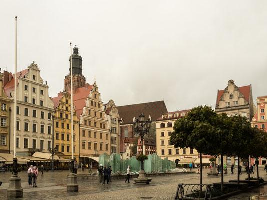 Bild: Der Rynek Markplatz in Breslau - Foto 2