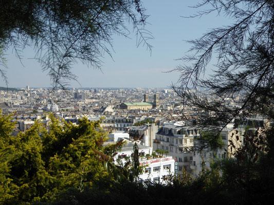 Bild: Blick von Sacré-Cœur auf Paris