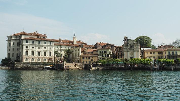 Bild: Herrenhäuser auf der  Insola Bella