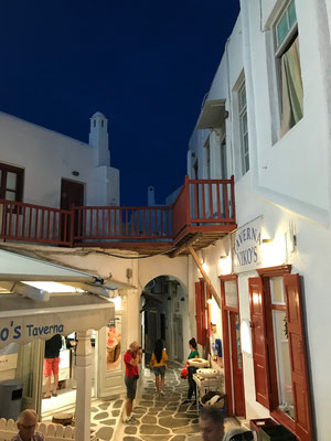 Bild: Little Venice in Mykonos