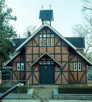 Bild: Die Alte Kapelle in Wernigerode mit der Backsteinfassade
