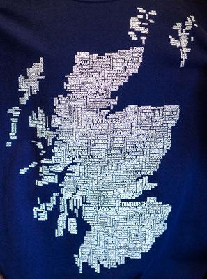 Bild: Karte von Schottland
