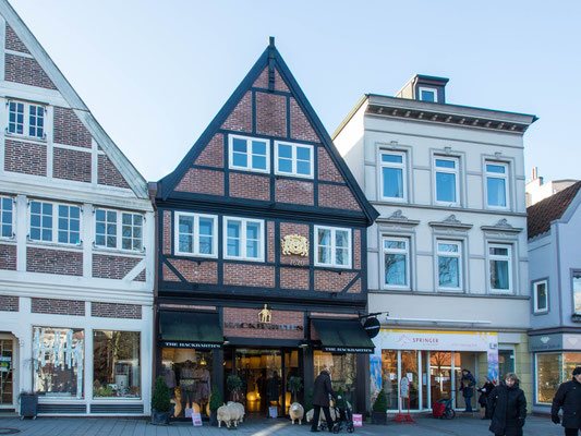 Bild: Alte Häuser in Bergedorf - Foto 1