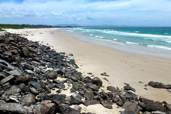Bild: Blick zu Clarke Beach