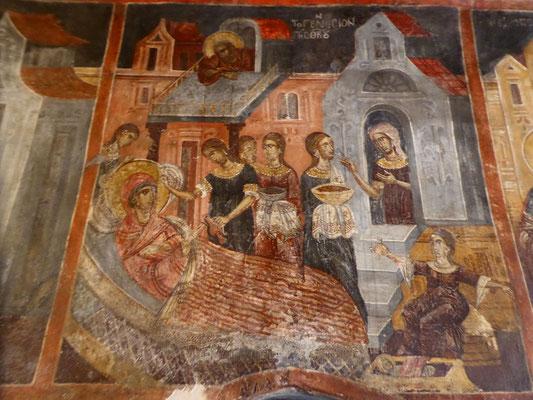 Bild: Kunstvolle Fresken