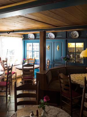 Das Restaurant Friesenpesel auf Hallig Hooge
