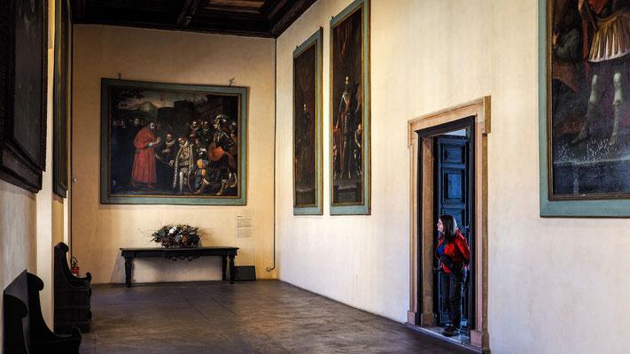 Bild: Raum in der Burg