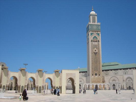 Bild: Moschee Hassan II