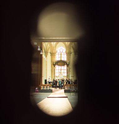 Bild: Die Grote Kerk in Den Haag von Innen