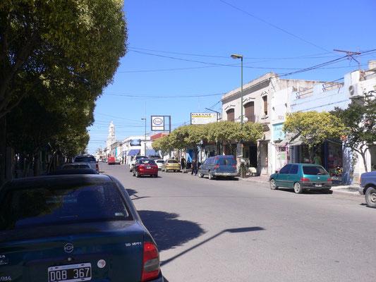 Hauptstraße der Stadt