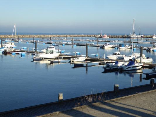 Bild: Der Jachthafen