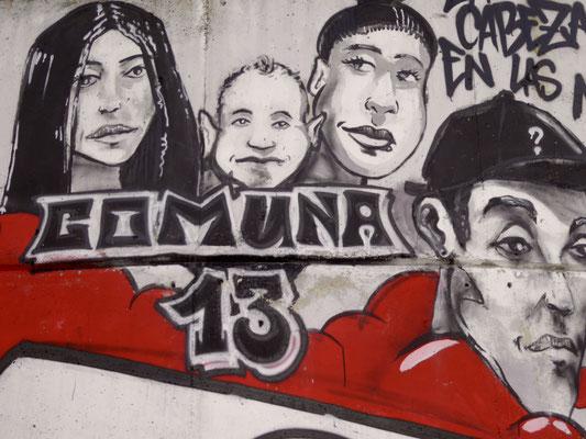 Bild: Comuna 13 in Medellin