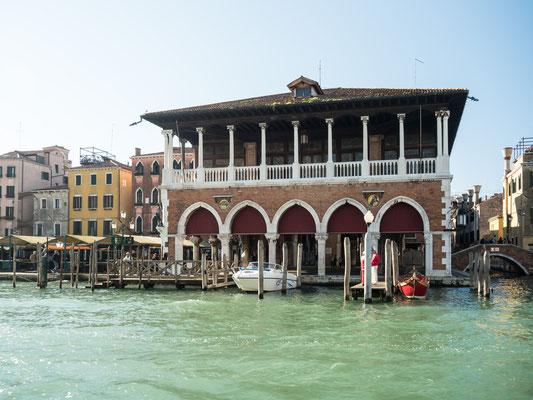 Bild: Fischmarkt in Venedig
